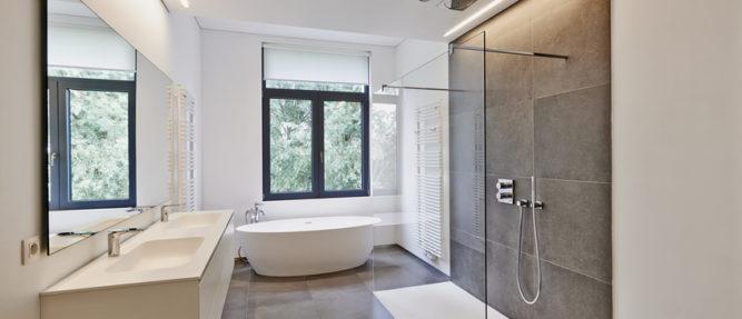 Pour votre salle de bain : douche ou baignoire ? • Je fais construire