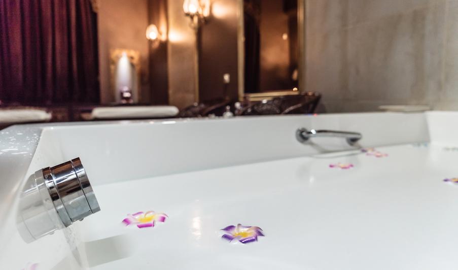 transformer sa salle de bain en spa mode d emploi je fais construire. Black Bedroom Furniture Sets. Home Design Ideas
