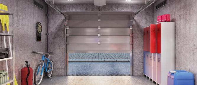 comment optimiser l 39 am nagement de votre garage je fais construire. Black Bedroom Furniture Sets. Home Design Ideas